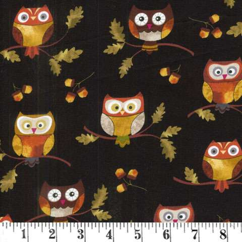 AC070 Leaf Into Autumn - Owls