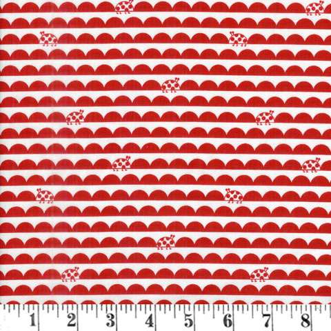 AC131 Bugsy Red/White Border