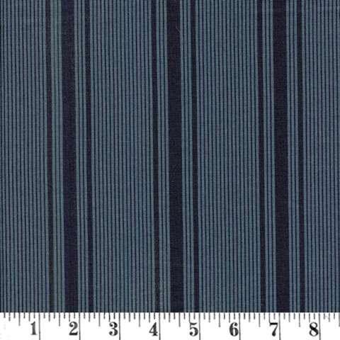 AC148 Mill Book Series 1889 - Shirting Stripe - Indigo