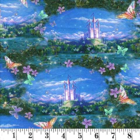 AC154 Dreamland - Scenic Blue