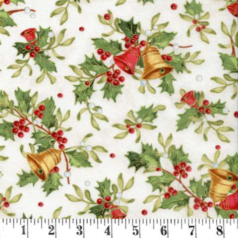 AC258 Christmas Bells - Bells and Holly