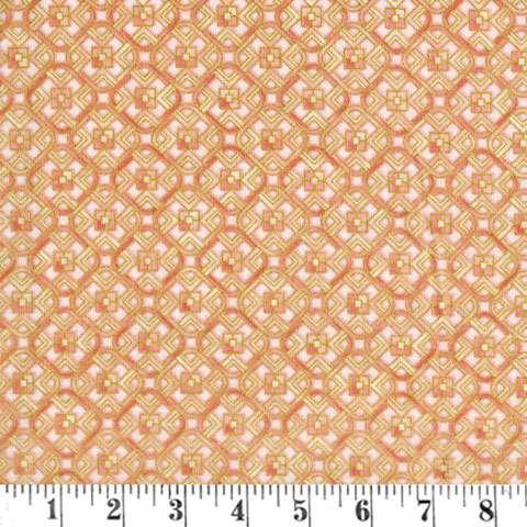 AC264 Grand Majolica - Pink Geometric