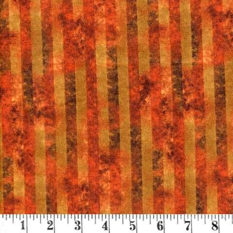 AC344 Tonal Stripe - Rust