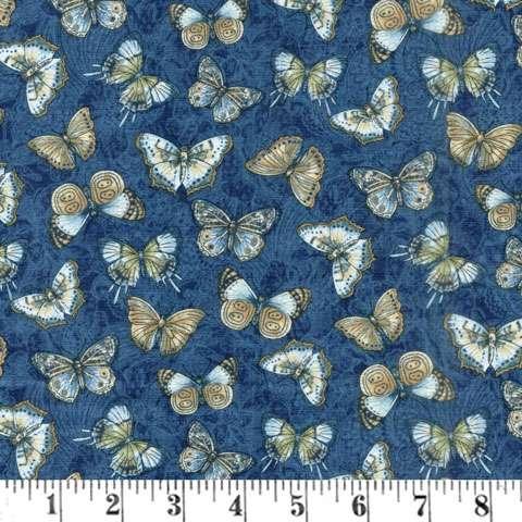 AC372 Flowering Peony - Blue Butterfly