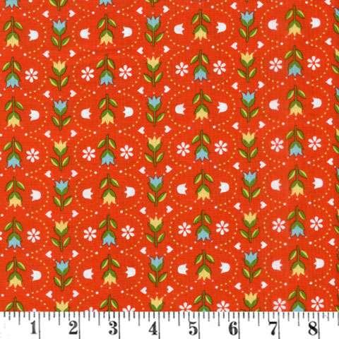 AC383 Dutch Treat - Red/Orange