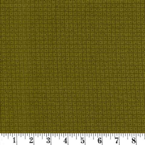 AC386 Hip To Be Square - Green Check Dots