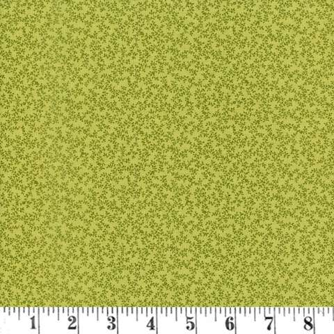 AC391 Quilters Basic - Light Green Branch