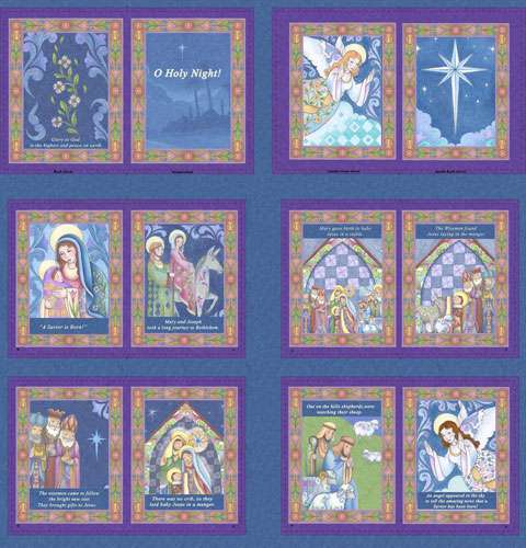 AC439 O Holy Night - Soft Book Panel