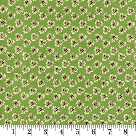 AC482 Postage Stamp - Green Floral
