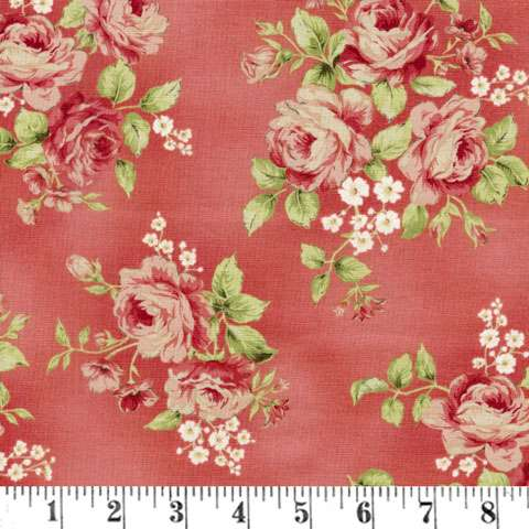 AC606 Welcome Home - Rose Large Floral