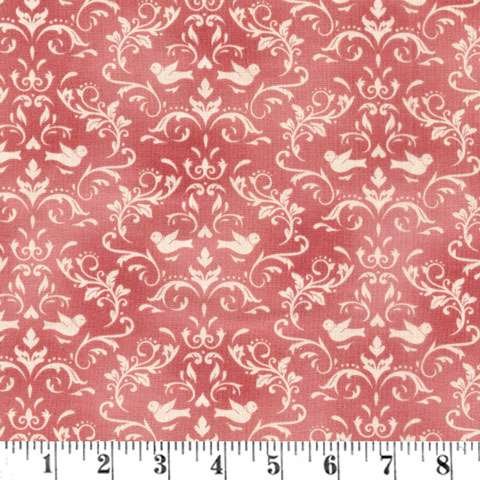 AC610 Welcome Home - Rose Damask