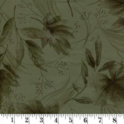 AC613 Serenity - Dark Green Leaves