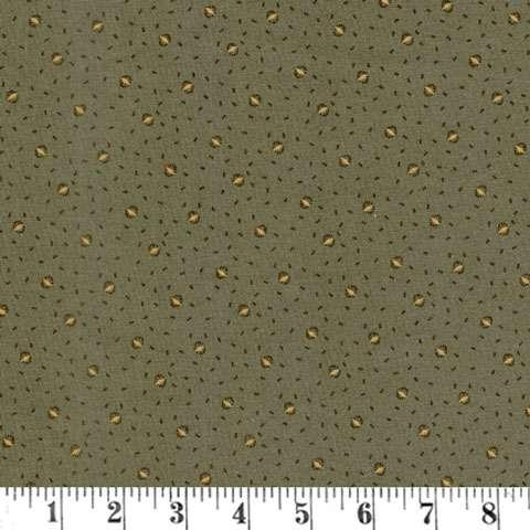 AC618 Antique Cotton Calicos - Reproduction Green