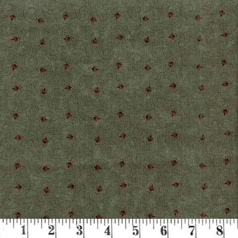 AC643 Prairie Cactus - Spikes & Swirls - Green