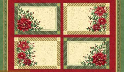AC690 Holiday Traditions - Placemats Panel