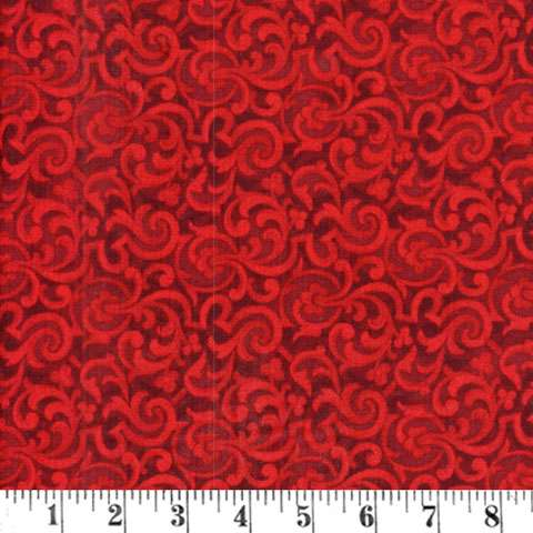AC694 Tapestry Scroll - Red