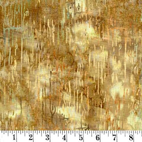 AC725 Batik - Acres to Sew Handpaint - Palomino