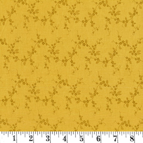 AC764 Lucy's - Gold Floral Vine