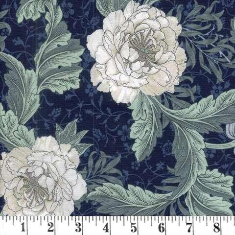 AC881 Morris - Large Floral - Royal
