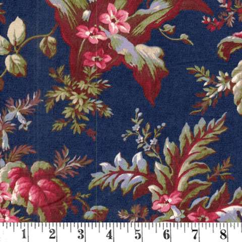 AC948 The Blue and The Grey - Large Floral