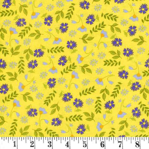 AC966 Meadow Sweets - Yellow
