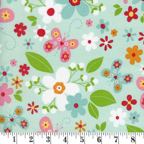 AD004 Garden Girl - Mint