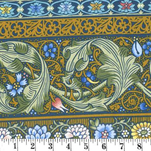 AD052 William & May - Blue/Gold