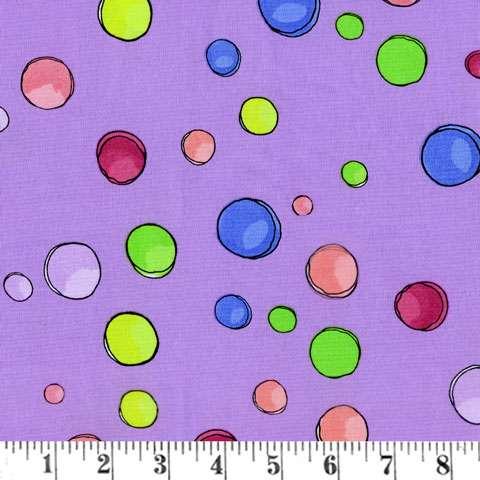 AD086 Blossom - Purple Dream Dots