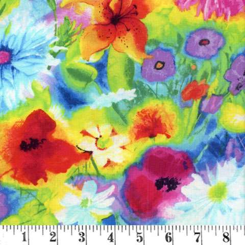 AD092 Ambrosia - Painted Multi Floral
