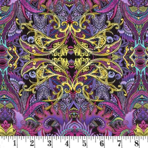 AD121 Kismet - Purple/Multi Dragonette
