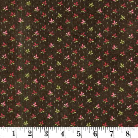 AD165 Pumpkin Pie Prints - Falling Leaves - Charcoal preview