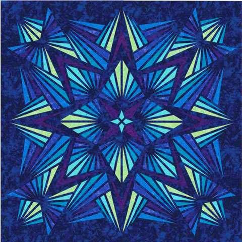 AD172 Crystal Topper - Sapphire - Digital Print