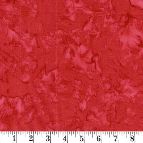 AD223 Dark Red Handcraft Batik