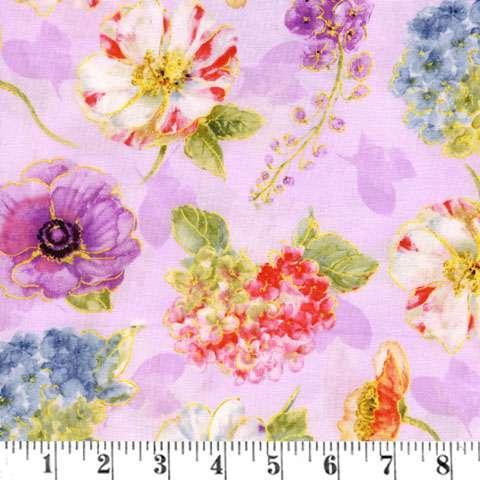 AD260 Rainbow Seeds - Purple Floral