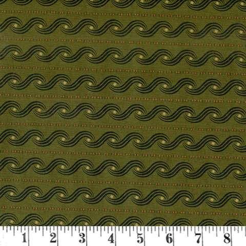 AD280 Katie's Cupboard - Green Swirl