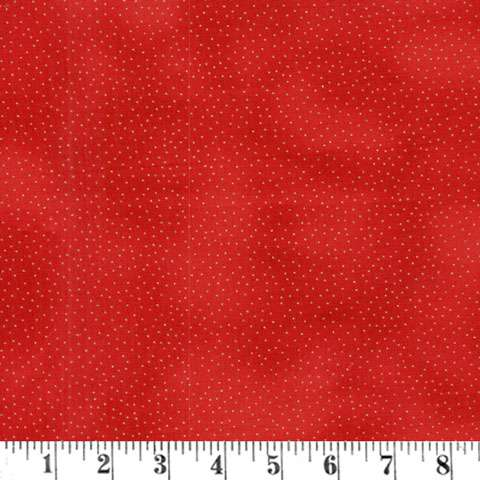 AD284 Dots - Red Metallic