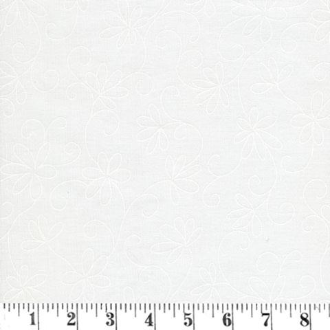 AD312 Solitaire - White Tone on Tone