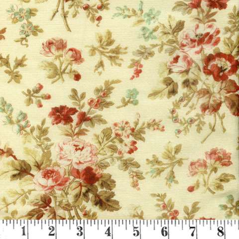 AD326 Extra Wide Backer - Floral