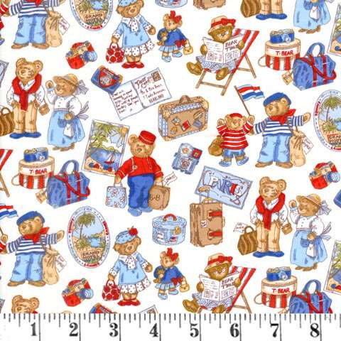 AD365 Teddy's Travels - Teddy's