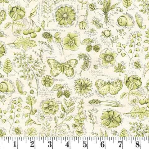 AD367 Garden Notes - Garden Journal - Fern Green