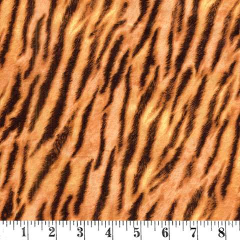 AD371 Fields of Gold - Tiger Skin Print
