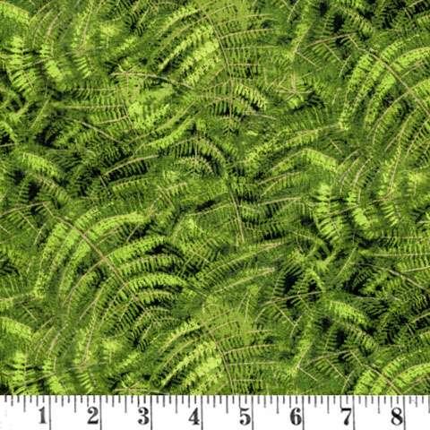 AD374 Naturescapes - Green Ferns