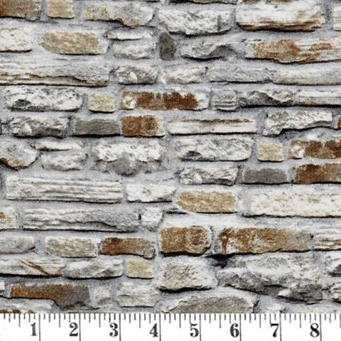 AD381 Naturescapes - Brickwork - Stone