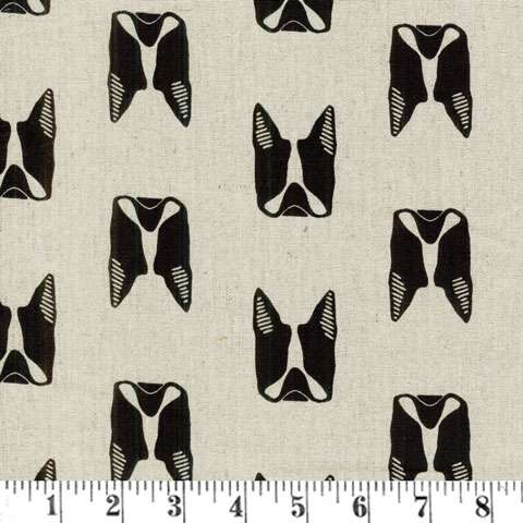 AD387 MakerMaker - Boston Terrier - Linen