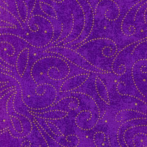 AD401 Extra Wide Backing - Marble Scroll Purple
