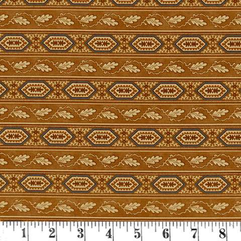 AD403 Reflections - Stripe - Med Brown