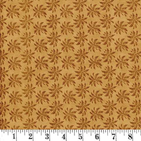 AD408 Reflections - Ferns - Med Brown