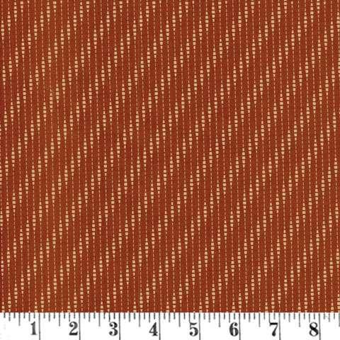 AD417 Coral Bells - Wavy Stripe - Cranberry