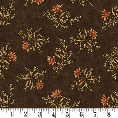 AD421 Coral Bells - Spaces Floral - Charcoal