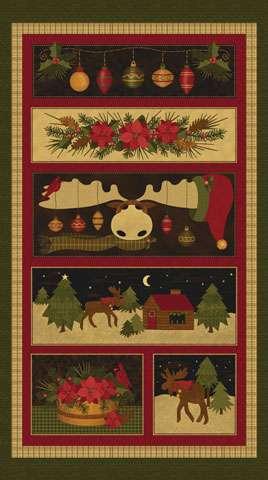 AD430 A Moose For Christmas - Panel